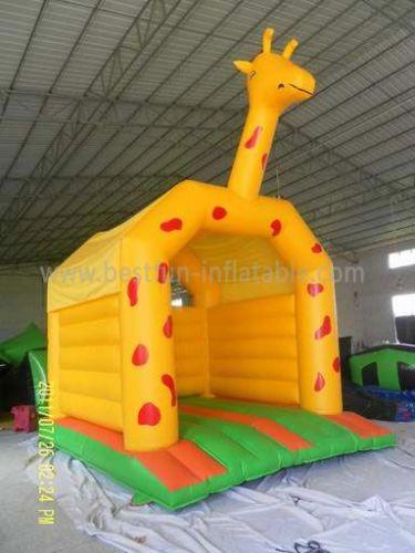 Giraffe Outdoor Inflatable Bouncer