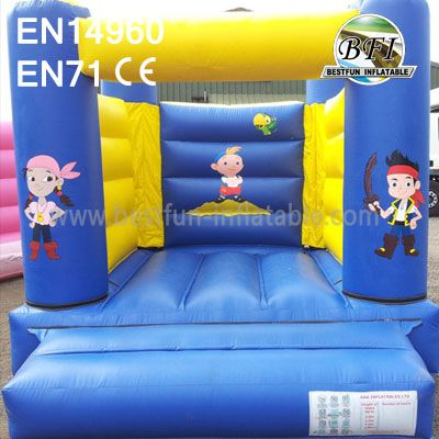 Kids Small Inflatable Pirate Bouncer