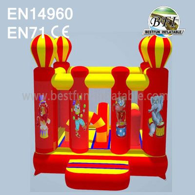 Commercial Inflatable Circus Bounce House