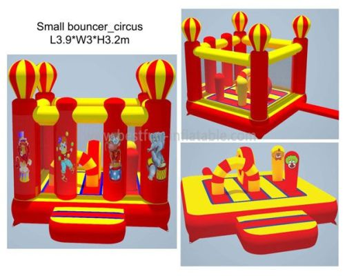 Red Inflatable Balloon Bouncer