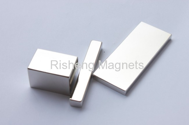 Neodymium Magnets N50M Grade Block Shaped NdFeB Permanent Magnets