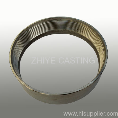 circle stainless steel silica sol casting