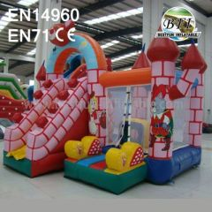 Small Inflatable Bouncer Slide