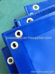 China PVC tarpaulin truck covers