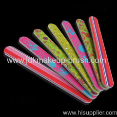 Colorful customize nail file