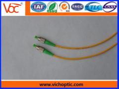 Promotional fc/pc single-mode optical fiber patch cord