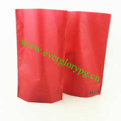 plastic no zipped stand up bag