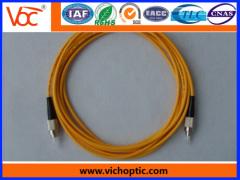 China manufacturer fc/pc single-mode optical fiber patch cord