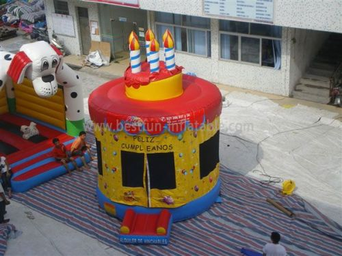 Birthday Cake Bounce House For Party