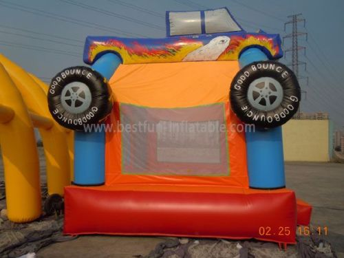 Customized Inflatable Monster Truck Bouncer