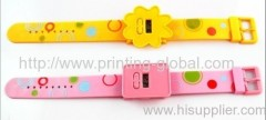 Thermal transfer tapes for plastic watch band