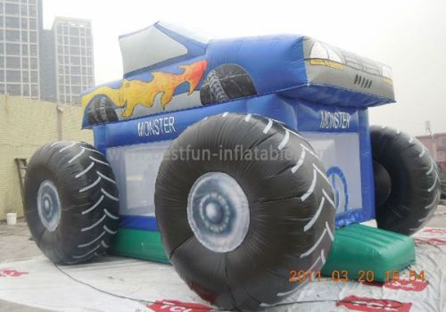 Best Seller Inflatable Monster Truck Bounce House