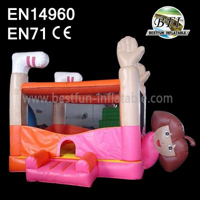 Dora Inflatable Belly Jumping Castle