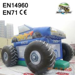Monster Truck Air Bouncer House
