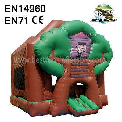 Commercial Backyard Inflatable Tree Bounce House