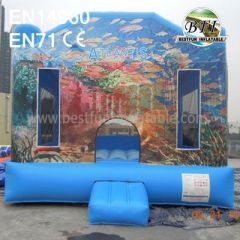 Commercial Backyard Inflatable Atlanta Bounce House