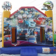 Commercial Backyard Inflatable Cars-PLEX Bounce House