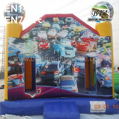 Commercial Backyard Inflatable Cars-PLEX Bounce House