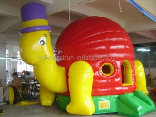 Inflatable Tortoise Bounce House