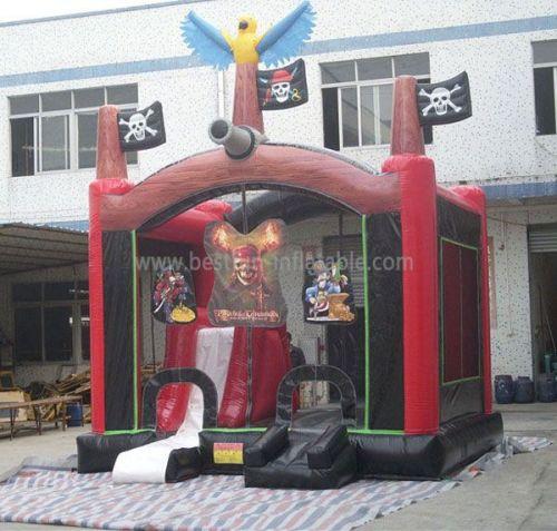 Multi Inflatable Pirate Castle
