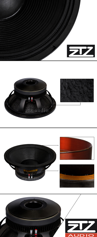 pro audio big bass subwoofer speakers
