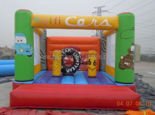 Inflatable Car Bouncy Castle