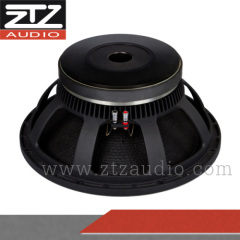"excellent 18"" speaker pa system subwoofer"