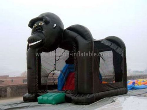Big Inflatable King Kong Bouncer
