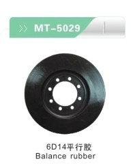 6D14 Balance rubber for excavator