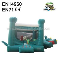 Business Dinosaur Inflatable Castle