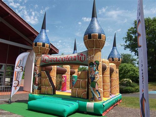 Dragon Kids Inflatable Castle