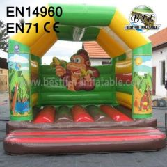 Jungle Animal Inflatable Bouncy Castle
