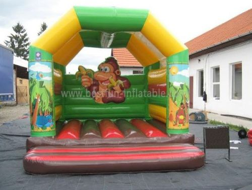 Jungle Monkey Commercial Inflatable Bouncy Castle