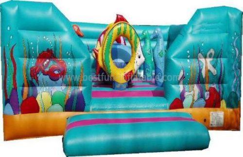 Inflatable Under-the-sea Bounce House