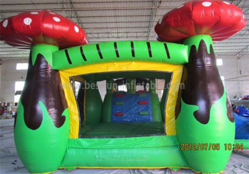 Mushroom Bounce Houses With Slides