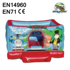 Happy Mini Thomas Train Inflatable Castle