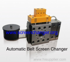 Belt filter-automatic mesh belt screen changer/ melt filter