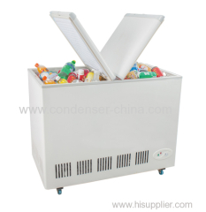 Butterfly door chest freezer 168L