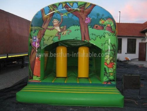 Inflatable Outdoor Jungle Bounce House