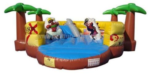 Inflatable Pirate Kids Zone