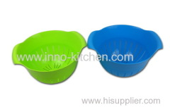 Plastic Drain Basket With Handle