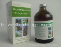 oxytetracycline HCL injection 20%