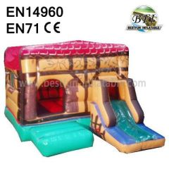 Happy Inflatable Indoor Bouncy Castle for Kids