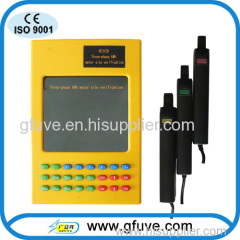 portable three phase standard reference energy meter