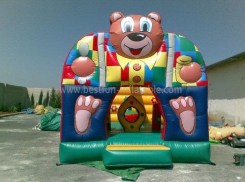Cute Bear Inflatable Jumping Castle