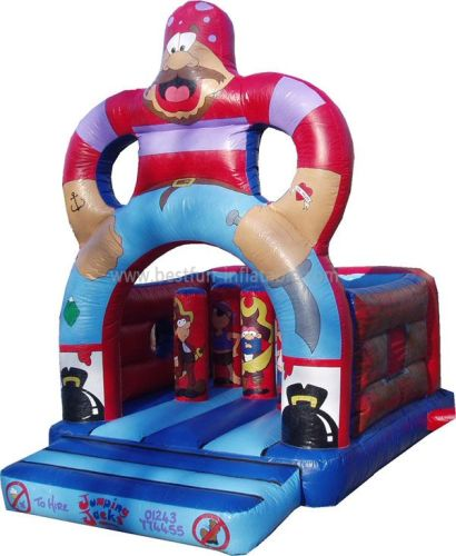 Inflatable Adventure Pirate Ship Jumping House