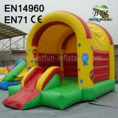 Inflatable Bouncy Slide and Castle and House