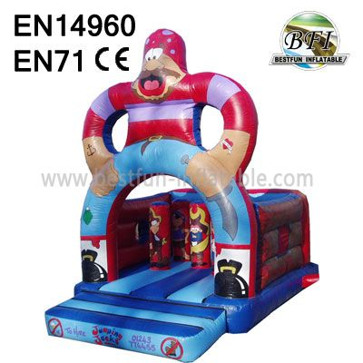 Inflatable Pirate Bounce House Kids
