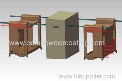industrial powder paint booth