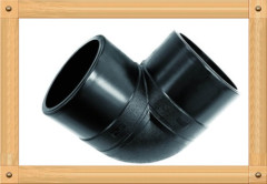 2013 hot sale HDPE Elbow 90D HDPE 100 PE Butt Welding Fittings